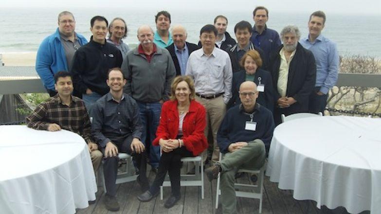 Standing: Dr. Levin, Dr. Tan, Dr. Blenis, Dr. Pasternak, Dr. Sauve, Dr. Inturrisi, Dr. Li, Dr. Kharas, Dr. Luo, Dr. Rifkind, Dr. Grimm, Dr. Gross, Dr. Mellhinghoff. Sitting: Dr. Jaffrey, Dr. Heller, Dr. Gudas, Dr. Toth
