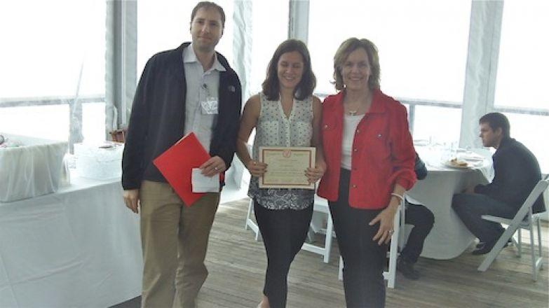 Dr. Kharas, Jocelin Kalish, Dr. Gudas