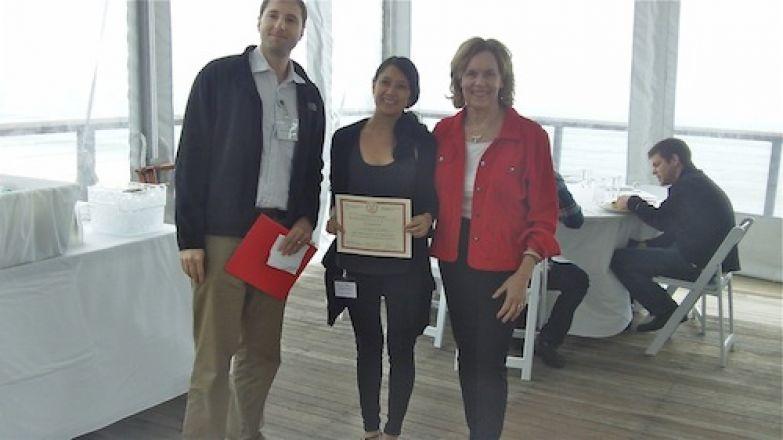 Dr. Kharas, Alyssa Verano, Dr. Gudas