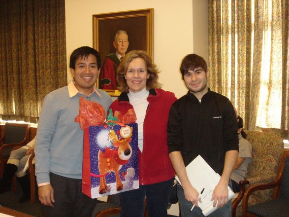 Drs. Ronald Perez, Lorraine Gudas, Ramon Amat