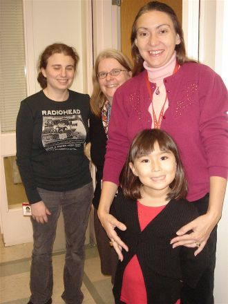Drs. Ann Foley, Anna Di Gregorio and her daughter Marianna