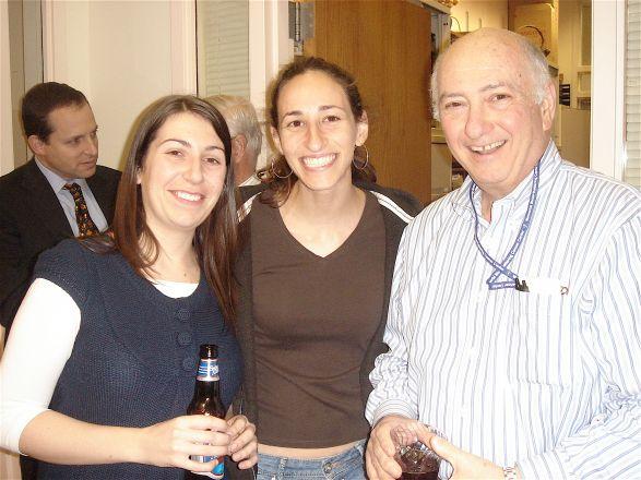 Alessia Deglincerti, Kindiya D. Geghman and Dr. Charles Inturrisi