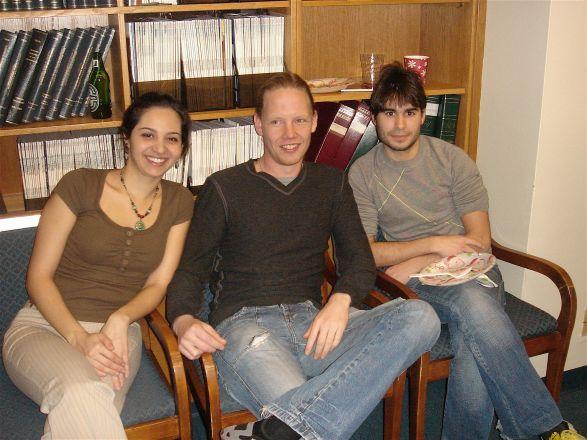 Naira Rezende, Drs. Kristian Laursen and Ramon Amat