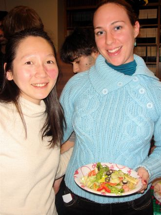 Amy Cheng and Judith Brener