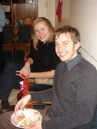 Christina Maksymiuk and Joel Schrock