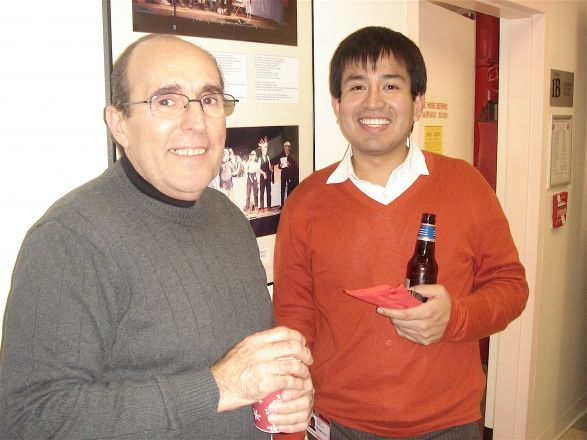 Jim Pllegrino and Dr. Ronald Perez