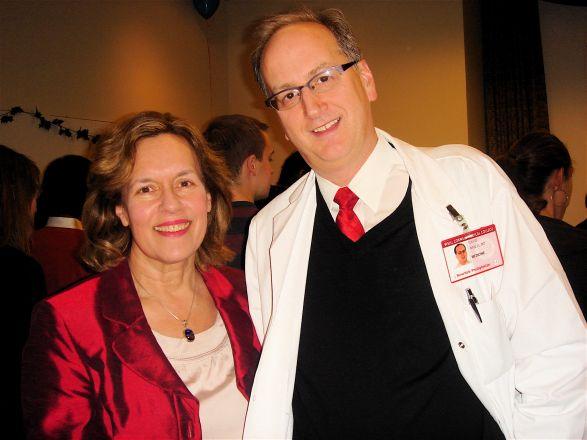 Drs. Lorraine Gudas and David Nanus