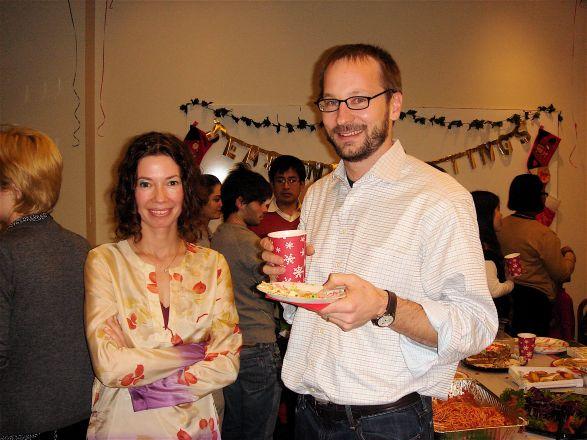 Drs. Crina Nimigean and David Christini
