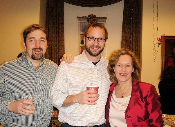 Drs. Geoffrey Abbott, David Christini and Lorraine Gudas