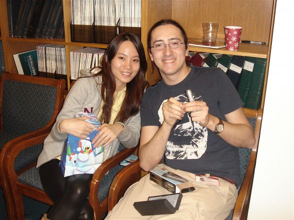 Noel Chan and Dr. Frederico Corti