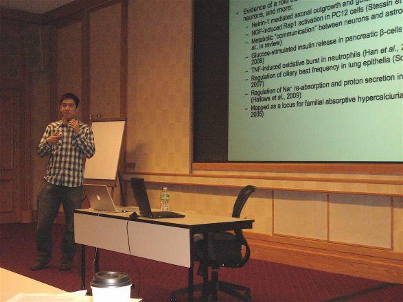Jonathan Chen, 3rd year MD/PhD student