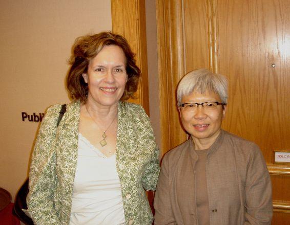 Drs. Lorraine Gudas and Hazel Szeto