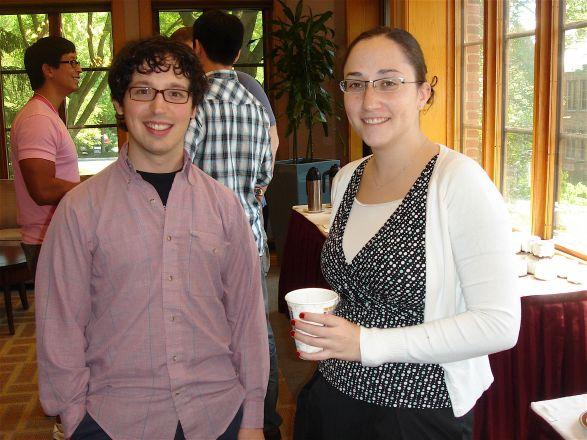 Carlos Villa and Rebecca Goldstein