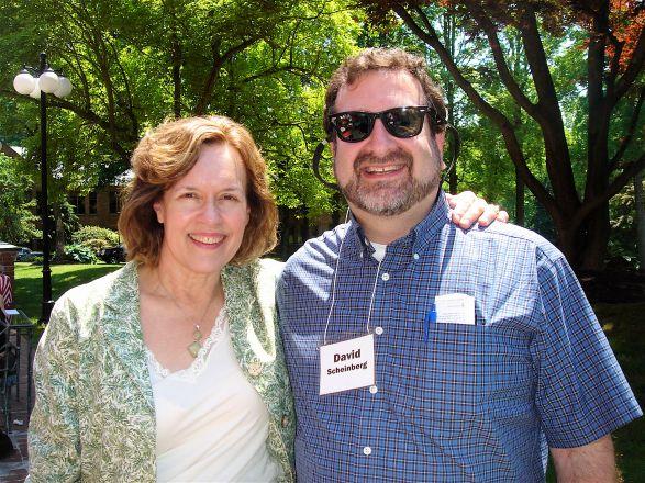 Drs. Lorraine Gudas and David Scheinberg