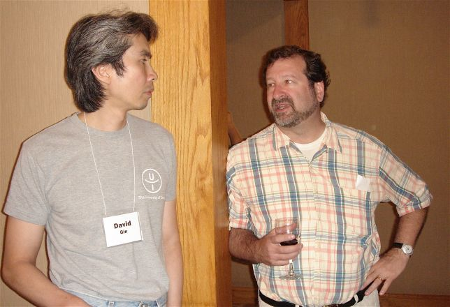 Drs. David Gin and David Scheinberg