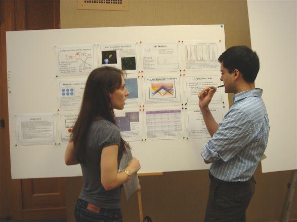 Student Stephanie Cordato and Dr. Samie Jaffrey