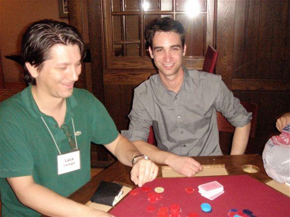 Dr. Luca Cartegni and Nick Veomett