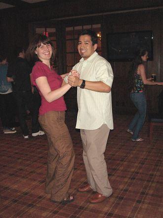 Kasia Marcinkiewicz and Dr. Ronald Perez