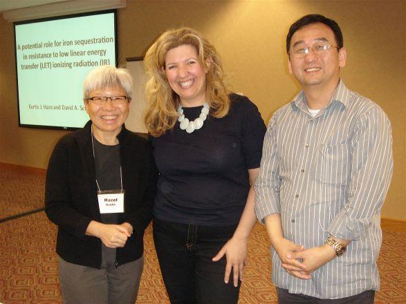 Drs. Hazel Szeto, Evi Giannakakou and Dunli Wu