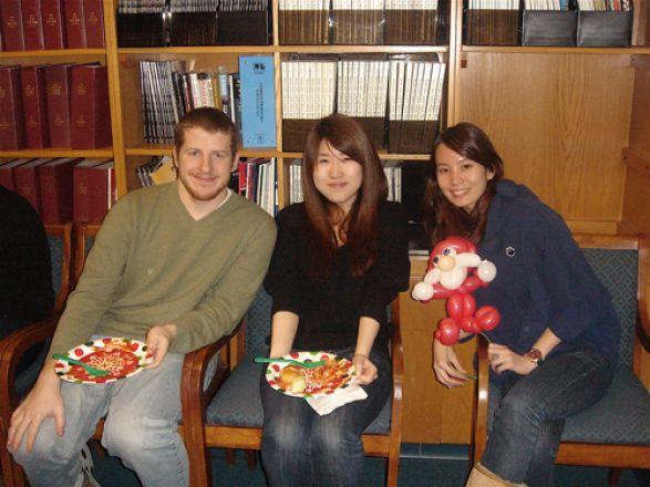 Jacob Bitterman, Dou Youn, and Noel Chan