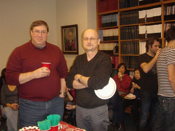 Drs. Lonny Levin and Miklos Toth