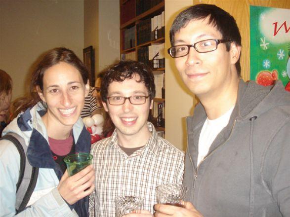 Kindiya D. Geghman, Drs. Carlos Villa and Freddy Escorcia