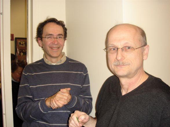 Drs. Hugh Hemmings and Miklos Toth