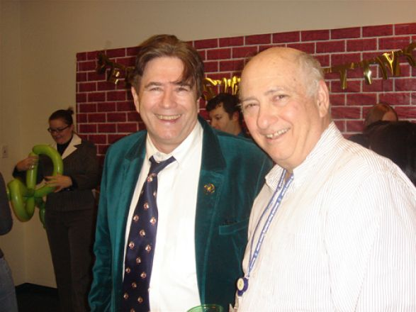 Drs. John Wagner and Charles Inturrisi