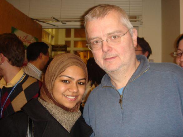 Eiman Nabi and Dr. Jochen Buck