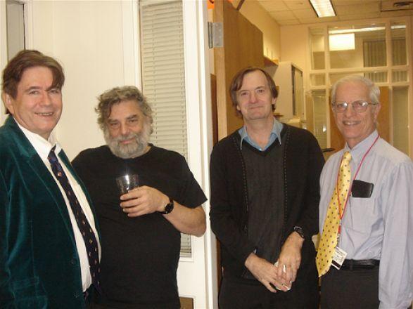 Drs. John Wagner, Steven Gross, John Moore, and Marcus Reidenberg