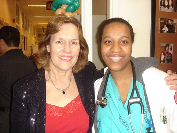 Drs. Lorraine Gudas and Kymora Scotland