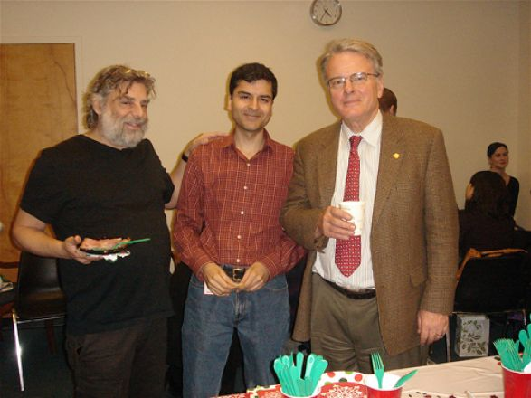 Drs. Steven Gross, Samie Jaffrey, and Olaf Andersen
