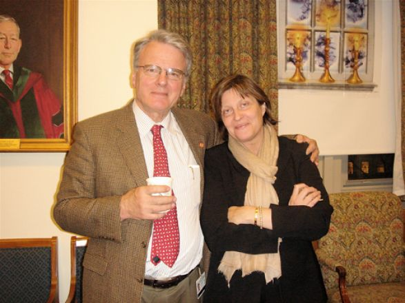 Drs. Olaf Andersen and Randi Silver