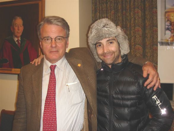 Dr. Olaf Andersen and Justin Mulvey