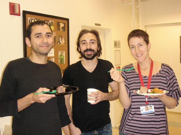 Drs. JR Courbard, Michael Cohen and Stephanie Kadison