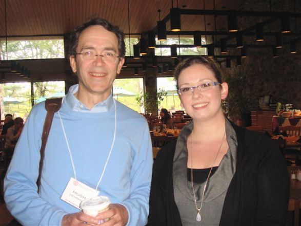 Dr. Hugh Hemmings and Anna Zaydman