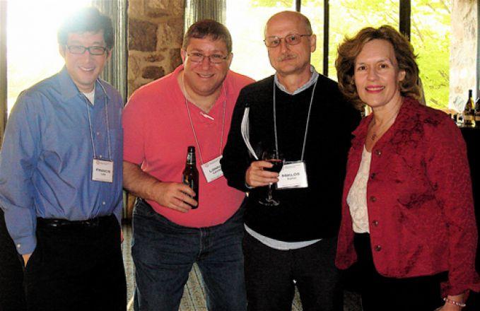 Drs. Francis Lee, Lonny Levin, Miklos Toth and Lorraine Gudas