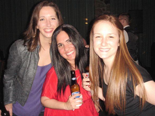 Dr. Alison Urvalek, Dr. Frances Gratacos and Abby Horstmann