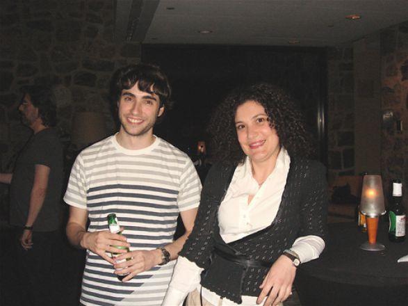 Drs. Pablo Robador and Silvia Aldi