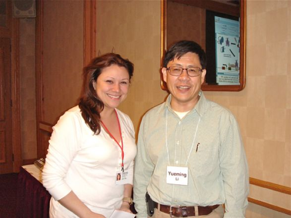 Aileen Ibagon and Dr. Yueming Li