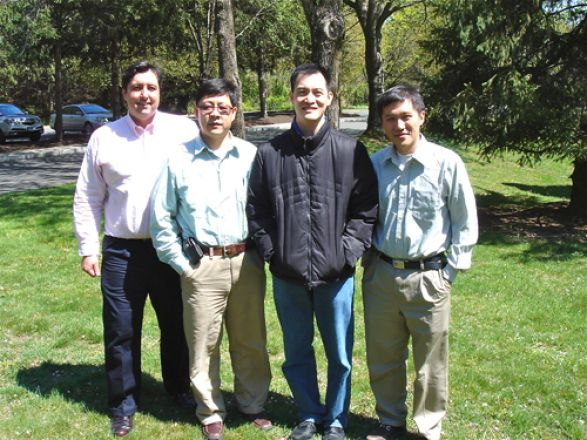 Drs. Anthony Sauve, Yueming Li, Derek Tan, and Minkui Luo