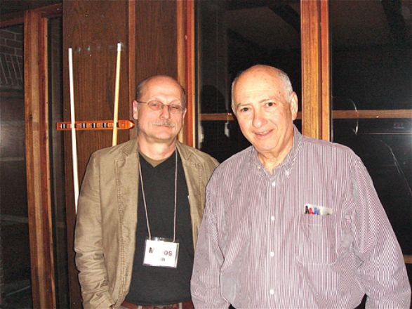 Drs. Miklos Toth and Charles Inturrisi