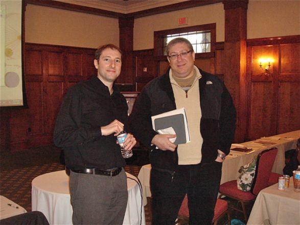 Drs. Michael Kharas and Lonny Levin