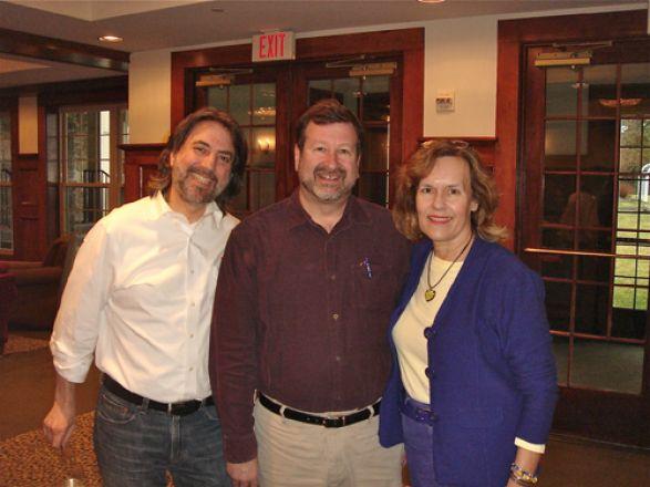 Drs. Richard Kolesnick, David Scheinberg and Lorraine Gudas