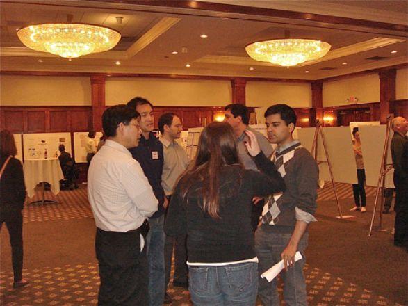 Dr. Yueming Li, Dr. Derek Tan, Dr. Samie Jaffrey and Christina Bonvicino
