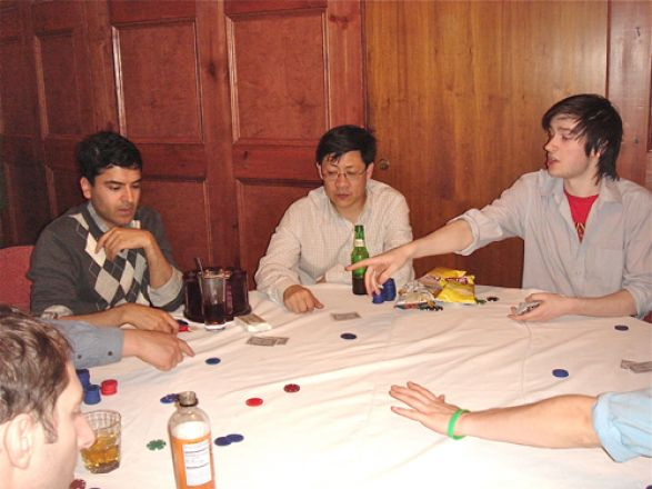 Dr. Samie Jaffrey, Dr. Yueming Li, and Henry Ashpitel