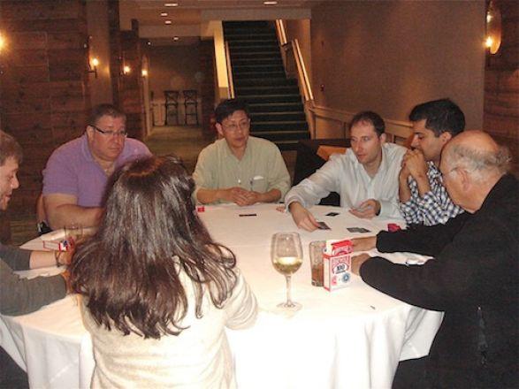 Dr. Kharas, Dr. Jaffrey, Dr. Inturrisi, Dr. Blenis, Denise Minton, Chuck Pratt, Kristian Laursen