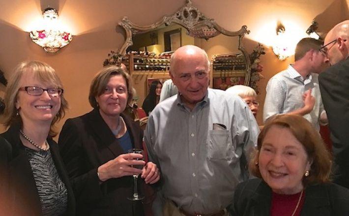 Dr. Felsen, Dr. Silver, Dr. Inturrisi and Dr. Rifkind