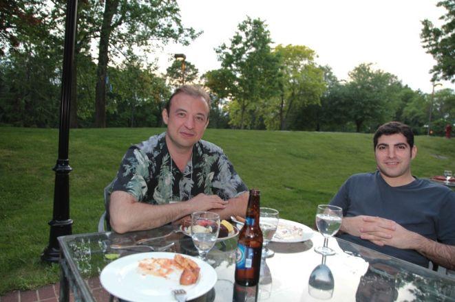 Dr. Eugene Lukyanov and Tal Nuriel