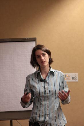 Sara Kubek, 5th year student